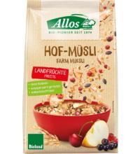 Allos Hof-Müsli Landfrüchte, 375 gr Packung