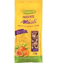 Rapunzel Früchte Müsli, 2 kg Packung