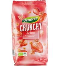 dennree Crunchy Erdbeer, 375 gr Packung