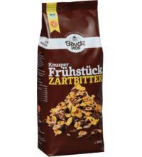 Bauck Hof Knusper Frühstück Zartbitter, 300 gr Packung -glutenfrei-