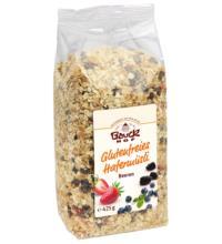 Bauck Hof Hafermüsli mit Beeren, 425 gr Packung -glutenfrei-