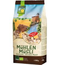 Bohlsener Mühlen Müsli Schoko, 500 gr Packung