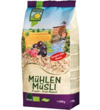 Bohlsener Mühlen Müsli Frucht, 500 gr Packung
