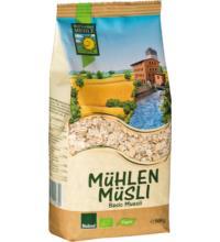 Bohlsener Mühlen Müsli Basis, 500 gr Packung