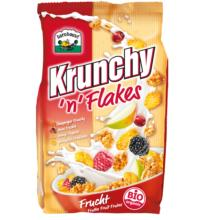 Barnhouse Krunchy n Flakes Frucht, 375 gr Packung