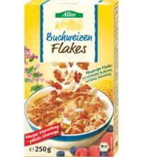 Allos Buchweizen-Cornflakes, 250 gr Packung