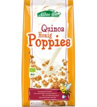 Allos Quinoa-Honig-Poppies, 200 gr Packung