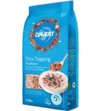 Davert Chia Topping Waldbeere, 200 gr Packung