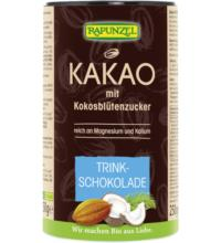 Rapunzel Kakao mit Kokosblütenzucker, 250 gr Dose