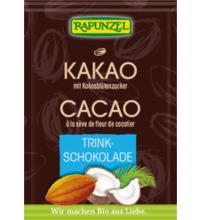 Rapunzel Kakao mit Kokosblütenzucker, 15 gr Packung