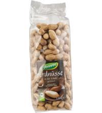 dennree Erdnüsse, mit Schale, geröstet, Ägypten, 330 gr Packung
