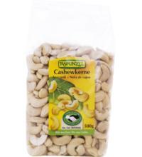 Rapunzel Cashewkerne ganz HIH, 500 gr Packung