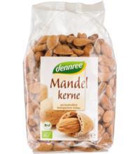 dennree Europäische Mandelkerne, ungeschält, 500 gr Packung