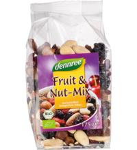dennree Fruit & Nut-Mix, 175 gr Packung