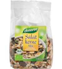 dennree Salatkern-Mix, 100 gr Packung
