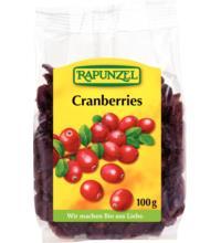 Rapunzel Cranberries, 100 gr Packung