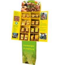 Rapunzel Aktionsdisplay Trockenfrüchte & Nüsse, 1 Display