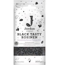 Jordan Black Tasty Rosinen, Korinthen PDO, 200 gr Packung