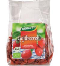dennree Goji-Beeren, getrocknet, 100 gr Packung