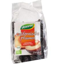 dennree Californische Pflaumen, entsteint, 250 gr Packung