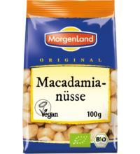Morgenland Macadamianüsseungeröstet,100 gr Packung