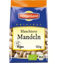 Morgenland Mandeln, blanchiert, Spanien & Italien, 100 gr Packung