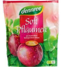 dennree Soft-Pflaumen, entsteint, 200 gr Packung