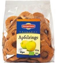 Morgenland Apfelringe, geschält, Türkei, 125 gr Packung