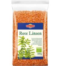 Morgenland Rote Linsen, 500 gr Packung
