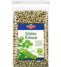 Morgenland Grüne Erbsen, 500 gr Packung