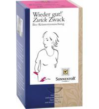 Sonnentor Wieder gut! Zwick-Zwack, 1,5 gr, 18 Btl Packung