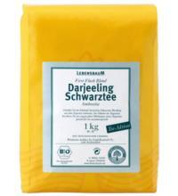 Lebensb Darjeeling Ambootia Schwarztee, 1 kg Packung