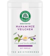 Lebensb Nanaminze Veilchen mit Vanille, 55 gr Dose