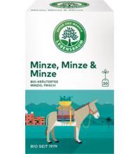 Lebensb Minze, Minze & Minze, 1,5 gr, 20 Btl Packung