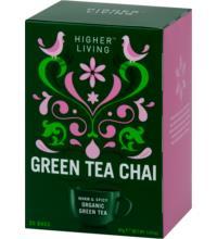 Higher Living Green Tea Chai, 2 gr, 20 Btl Packung