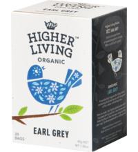Higher Living Earl Grey, 2,25 gr, 20 Btl Packung