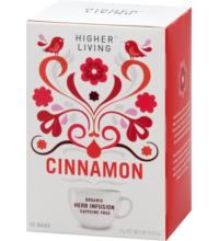 Higher Living Zimt, 2,2 gr, 15 Btl Packung