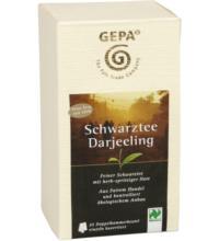Gepa Schwarztee Darjeeling, 2 gr, 25 Btl Packung