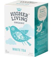 Higher Living White Tea, 1,75 gr, 20 Btl Packung