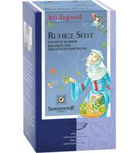 Sonnentor Ruhige Seele Tee Hildegard - Element Wasser, 1,5 gr, 18 Btl Packung