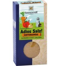 Sonnentor Adios Salz! Gartengemüse Gemüsemischung, 60 gr Packung