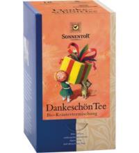 Sonnentor Dankeschön Tee, 1,5 gr, 18 Btl Packung