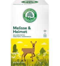 Lebensb Melisse & Heimat, 2 gr, 20 Btl Packung
