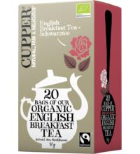 Cupper English Breakfast Tea, 2,5 gr, 20 Btl Packung