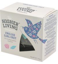 Higher Living English Earl Grey, 2,5 gr, 20 Btl Packung