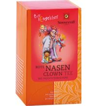 Sonnentor Bio-Bengelchen Rote Nasen Clown-Tee, 2 gr, 20 Btl Packung