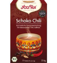 Yogi Tea Schoko Chili, 2,2 gr, 17 Btl Packung