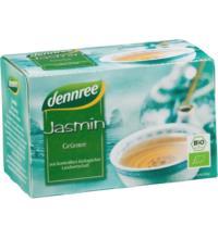 dennree Jasmin Grüntee, 1,5 gr, 20 Btl Packung