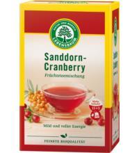 Lebensb Sanddorn-Cranberry Tee, 2,5 gr, 20 Btl Packung