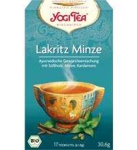 Yogi Tea Lakritz Minze, 1,8 gr, 17 Btl Packung